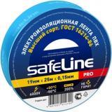 Изоляция лента ПХВ 19мм * 25м цветн Safeline